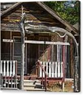 Old Ranch Cabin In Antique Color 3008.02 Acrylic Print