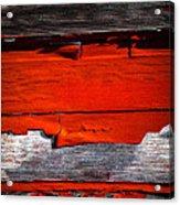 Old Red Barn Three Acrylic Print