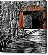 Old Red Bridge Acrylic Print