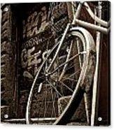 Old Ride Acrylic Print