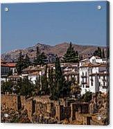 Old Ronda Panoramic. Andalusia. Spain Acrylic Print