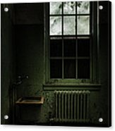 Old Room - Abandoned Asylum - The Presence Outside Acrylic Print