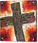 Old Rugged Cross Acrylic Print
