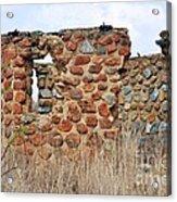 Old Ruin Abandoned Acrylic Print