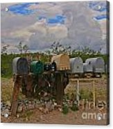 Old Rural Route Acrylic Print