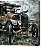 Old Rusty Acrylic Print