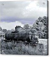 Old Rusty Tanker 3 Acrylic Print