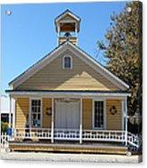 Old Sacramento California Schoolhouse 5d25543 Acrylic Print