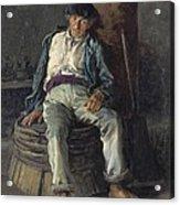 Old Sailor Wearing A Beret, 1889 Acrylic Print