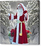 Old Saint Nick Acrylic Print
