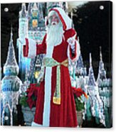 Old Saint Nick Walt Disney World Digital Art 02 Acrylic Print