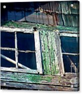 Old Salt Window Acrylic Print