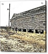 Old Salted Building Acrylic Print