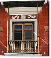 Old San Juan Balcony Acrylic Print