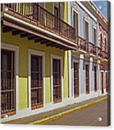Old San Juan Acrylic Print
