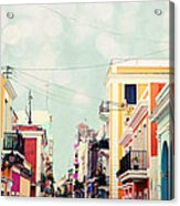 Old San Juan Special Request Acrylic Print