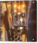 Old Santa Fe Lamp Acrylic Print