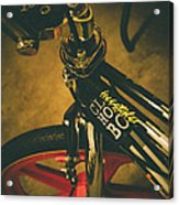 Old School Cool Bmx - 1 Acrylic Print by Jamian Stayt