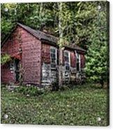 Old School House Acrylic Print