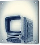 Old School Television Acrylic Print