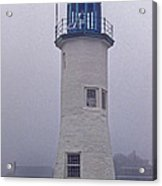 Old Scituate Light Tower Acrylic Print