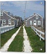 Old 'sconset Nantucket Houses Acrylic Print
