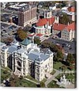 Old Sedgwick County Courthouse In Wichita Acrylic Print