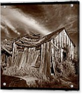 Old Shack Bodie Ghost Town Acrylic Print