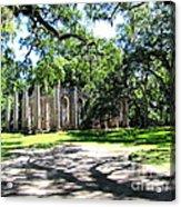Old Sheldon Church 2 Acrylic Print