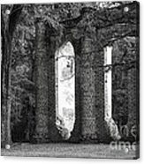 Old Sheldon Church Side View Acrylic Print