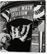 Old Shibe Park - Connie Mack Stadium Acrylic Print