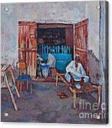 Old Shop Suakin Acrylic Print