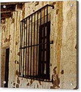 Old Spanish Mission Acrylic Print