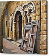 Old Spanish Monastery Acrylic Print by Rich Kuhn