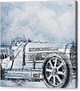 Old Sport Car Acrylic Print