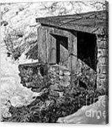Old Spring House Acrylic Print