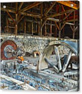 Old Stamp Mill In Berlin Nv Acrylic Print