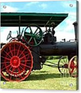 Old Steam Engine Acrylic Print