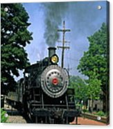 Old Steam Train Acrylic Print