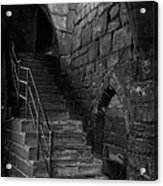 Old Steps In Chester England Acrylic Print