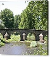 Old Stone Arch Bridge Acrylic Print