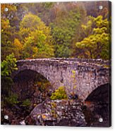 Old Stone Bridge. Scotland Acrylic Print