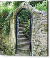 Old Stone Gate Acrylic Print