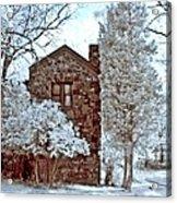 Old Stone House Acrylic Print