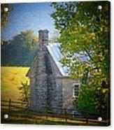 Old Stone House Acrylic Print by Joyce Kimble Smith