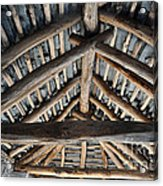 Old Stone Roof Acrylic Print