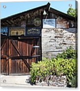 Old Storage Shed At The Swiss Hotel Sonoma California 5d24458 Acrylic Print by Wingsdomain Art and Photography