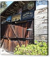 Old Storage Shed At The Swiss Hotel Sonoma California 5d24459 Acrylic Print