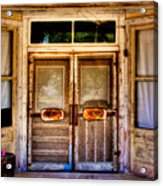 Old Store Front Acrylic Print