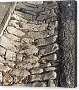 Old Style Gutter Acrylic Print